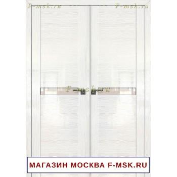 Межкомнатная распашная дверь Белая сосна 2.01STP (Товар № ZF112724)