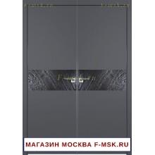 Межкомнатная распашная дверь Премиум 4SMK серая (Товар № ZF112726)