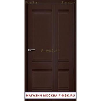 Межкомнатная дверь книжка Складная 1U темно-коричневая (Товар № ZF112715)