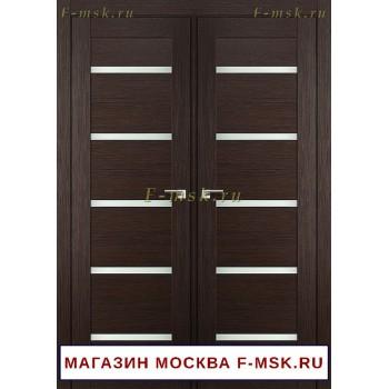 Межкомнатная распашная дверь венге 7X (Товар № ZF112729)