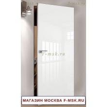 Скрытая межкомнатная дверь Белая 1LK (Товар № ZF112743)