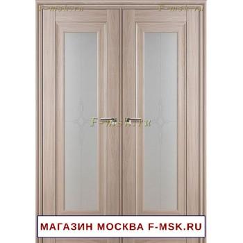 Межкомнатная распашная дверь орех пекан 24X (Товар № ZF112731)