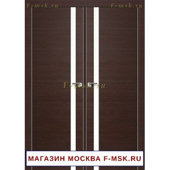 Межкомнатная распашная дверь венге 6Z (Товар № ZF112733)