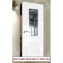 Скрытая межкомнатная дверь Белая 83LK (Товар № ZF112761)