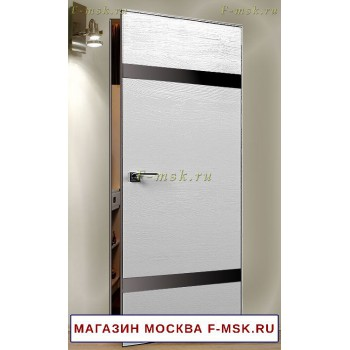 Скрытая межкомнатная дверь Дверь 3STK белая сосна (Товар № ZF112757)