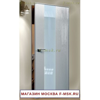 Скрытая межкомнатная дверь Дверь 5STK серая сосна (Товар № ZF112758)