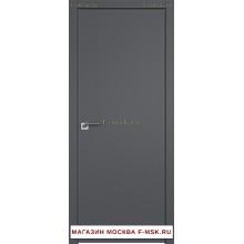 Межкомнатная дверь серая 1SMK (Товар № ZF112791)