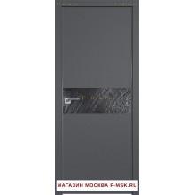 Межкомнатная дверь серая 4SMK (Товар № ZF112796)