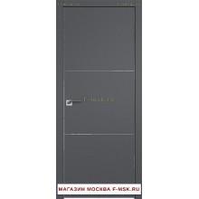 Межкомнатная дверь серая 44SMK (Товар № ZF112830)