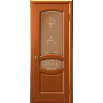 Межкомнатная дверь АНАСТАСИЯ (Темный Анегри Т74, стекло) со стеклом, темный анегри т74 (Товар № ZF190938)