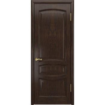 Межкомнатная дверь Деметра (Мореный дуб, дг) глухая, мореный дуб (Товар № ZF190952)