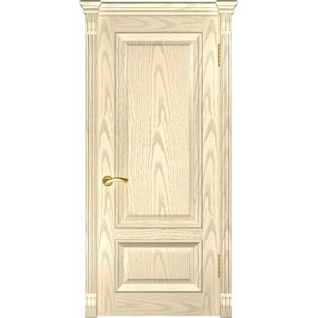 Межкомнатная дверь Фараон-1 (ДГ дуб слоновая кость) глухая, слоновая кость (Товар № ZF190957)