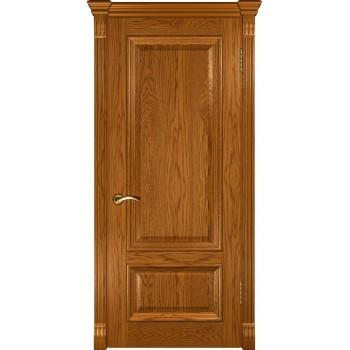 Межкомнатная дверь Фараон-1 (ДГ дуб золотистый) глухая, дуб золотистый (Товар № ZF190954)
