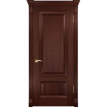 Межкомнатная дверь Фараон-1 (ДГ красное дерево) глухая, красное дерево (Товар № ZF190955)