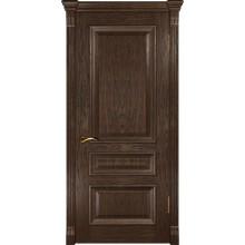 Межкомнатная дверь Фараон-2 (ДГ мореный дуб) глухая, мореный дуб (Товар № ZF190962)
