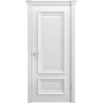 Межкомнатная дверь Модель B-1 глухая, белая эмаль (Товар № ZF191095)