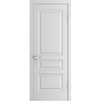 Межкомнатная дверь Модель L-2 глухая, белая эмаль (Товар № ZF191098)