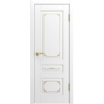 Межкомнатная дверь Модель L-3 глухая, белая эмаль (Товар № ZF191100)