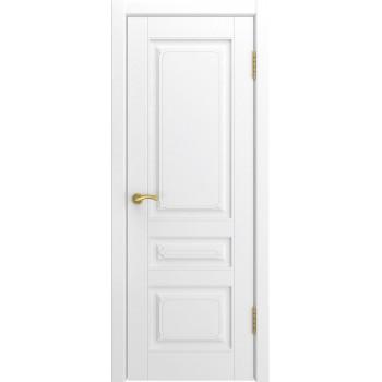 Межкомнатная дверь Модель L-4 глухая, белая эмаль (Товар № ZF191102)