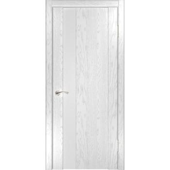 Межкомнатная дверь Орион-3 (дуб белая эмаль) со стеклом, дуб белая эмаль (Товар № ZF191109)