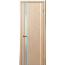 Межкомнатная дверь СИНАЙ 1 (Беленый дуб,стекло белое) светлое, беленый дуб (Товар № ZF191112)
