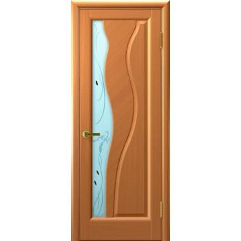 Межкомнатная дверь Торнадо (Светлый Анегри, стекло) со стеклом, светлый анегри т34 (Товар № ZF191132)