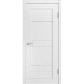 Межкомнатная дверь U-21 (винил, белый) глухая, белый (Товар № ZF191144)