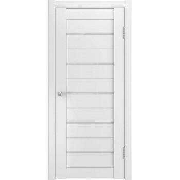 Межкомнатная дверь U-22 (винил, белый) глухая, белый (Товар № ZF191141)