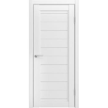 Межкомнатная дверь UH-6 (винил, белый, стекло) со стеклом, белый (Товар № ZF191147)