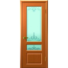 Межкомнатная дверь ВАЛЕНТИЯ 2 (Светлый Анегри Т34, стекло) со стеклом, светлый анегри т34 (Товар № ZF191149)