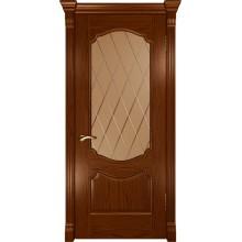 Межкомнатная дверь Венеция (ДО Дуб сандал) со стеклом, дуб сандал (Товар № ZF191156)