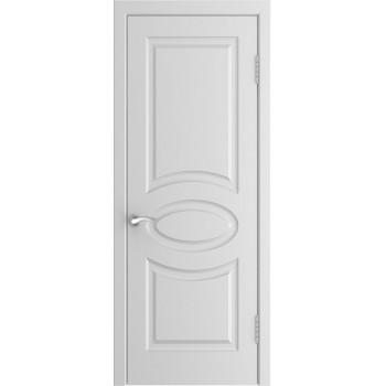 Межкомнатная дверь Модель L-1 глухая, белая эмаль (Товар № ZF190993)