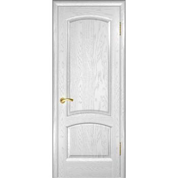 Межкомнатная дверь Лаура (дуб белая эмаль, глухая) глухая, дуб белая эмаль (Товар № ZF191003)