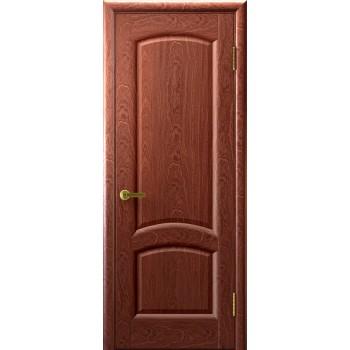 Межкомнатная дверь Лаура (красное дерево, глухая) глухая, красное дерево (Товар № ZF191004)