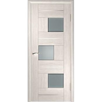 Межкомнатная дверь ЛУ-11 (Капучино) со стеклом, капучино (легенда) (Товар № ZF191021)