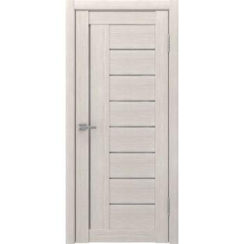 Межкомнатная дверь ЛУ-17 (сатинат, капучино) со стеклом, капучино (Товар № ZF191027)