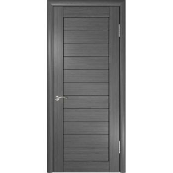 Межкомнатная дверь ЛУ-21 (Серая) глухая, серый (Товар № ZF191030)