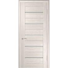 Межкомнатная дверь ЛУ-22 (Капучино) со стеклом, капучино (легенда) (Товар № ZF191033)