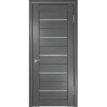 Межкомнатная дверь ЛУ-22 (Серая) со стеклом, серый (Товар № ZF191034)