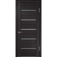Межкомнатная дверь ЛУ-22 (Венге) со стеклом, венге (Товар № ZF191039)