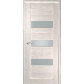 Межкомнатная дверь ЛУ-23 (Капучино) со стеклом, капучино (легенда) (Товар № ZF191038)