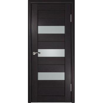 Межкомнатная дверь ЛУ-23 (Венге) со стеклом, венге (Товар № ZF191041)