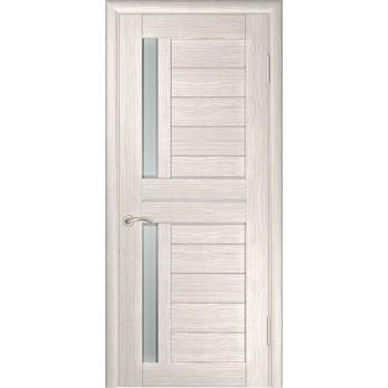 Межкомнатная дверь ЛУ-27 (Капучино) со стеклом, капучино (легенда) (Товар № ZF191044)