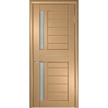 Межкомнатная дверь ЛУ-27 (Орех) со стеклом, орех (Товар № ZF191045)