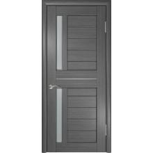 Межкомнатная дверь ЛУ-27 (Серая) со стеклом, серый (Товар № ZF191046)