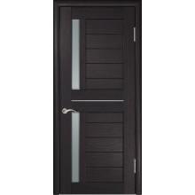 Межкомнатная дверь ЛУ-27 (Венге) со стеклом, венге (Товар № ZF191047)