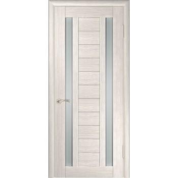 Межкомнатная дверь ЛУ-28 (Капучино) со стеклом, капучино (легенда) (Товар № ZF191049)