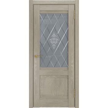 Межкомнатная дверь ЛУ-52 (Дуб серый, до) дуб серый (Товар № ZF191055)