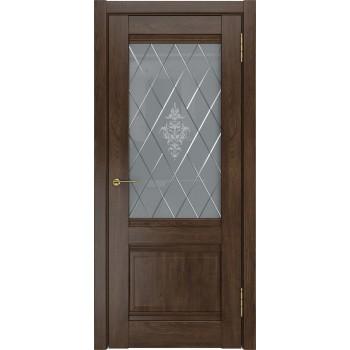 Межкомнатная дверь ЛУ-52 (дуб корица, до) дуб корица (Товар № ZF191050)