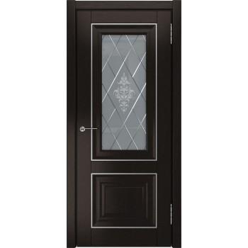 Межкомнатная дверь ЛУ-62 (Дуб темный, до) дуб темный (Товар № ZF191060)